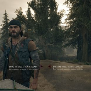 Days Gone Bring Drugs Stash To Tucker Or Copeland