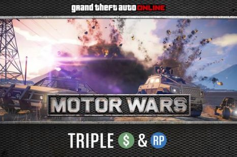 Triple Rewards in Motor Wars Available in GTA Online This Week