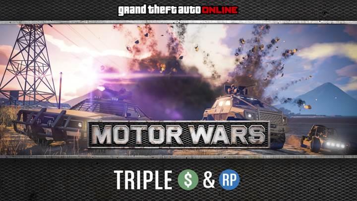 GTA Onlie Motor Wars - Gamers Heroes