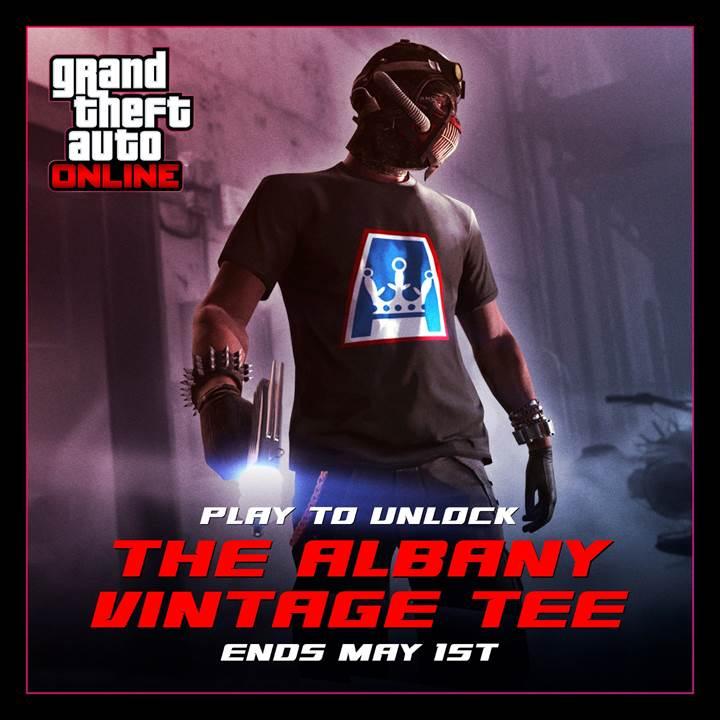GTA Online Albany Vintage Tee - Gamers Heroes