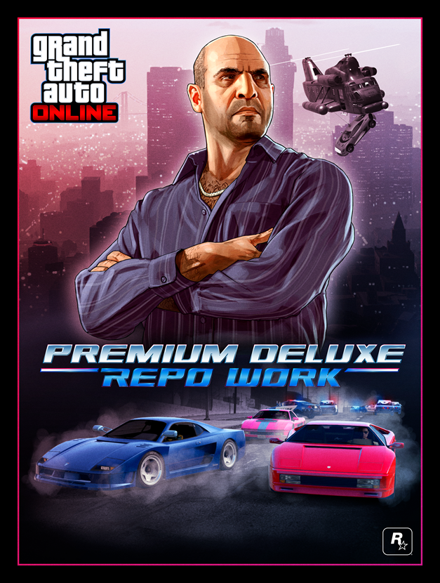 GTA Online Premium Deluxe Repo Work - Gamers Heroes