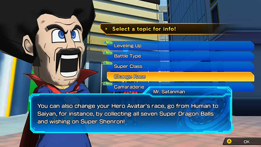 How To Change Race In Super Dragon Ball Heroes World Mission