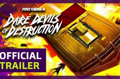 Just Cause 4 Dare Devils of Destruction DLC Announced