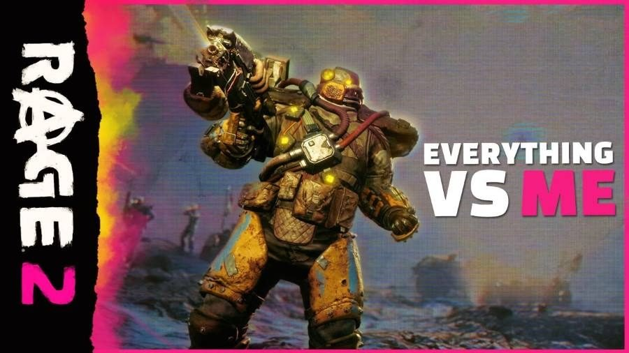RAGE 2 Everything vs. Me - Gamers Heroes