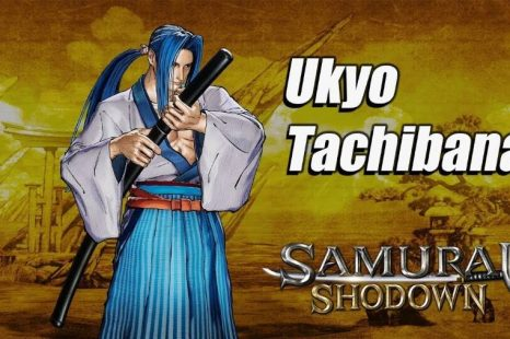 Ukyo Highlighted in New Samurai Shodown Trailer