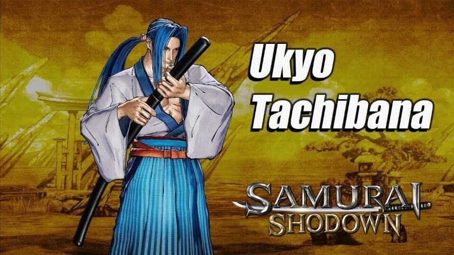 Samurai Shodown Ukyo - Gamers Heroes