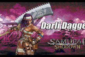 Darli Dagger Highlighted in New Samurai Showdown Video