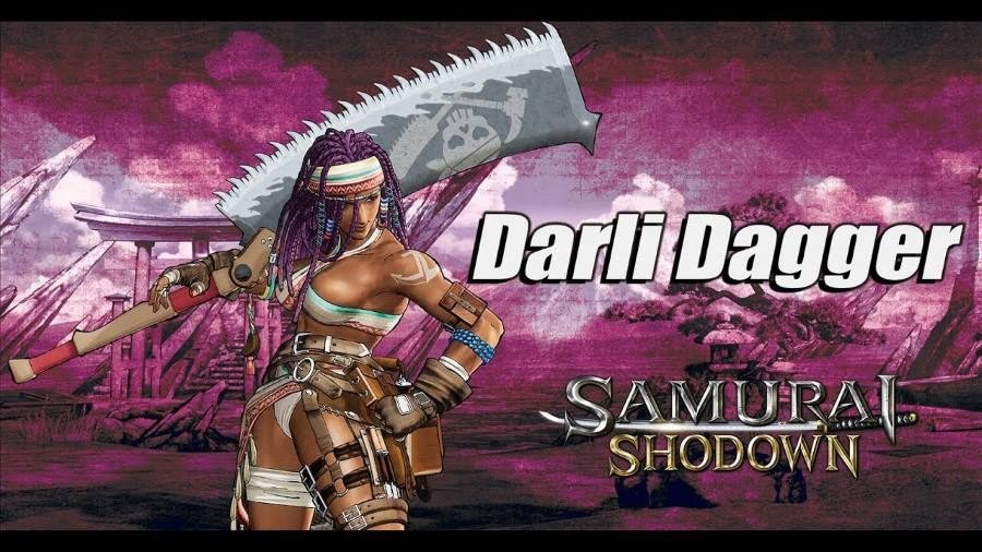 Samurai Showdown Darli Dagger - Gamers Heroes