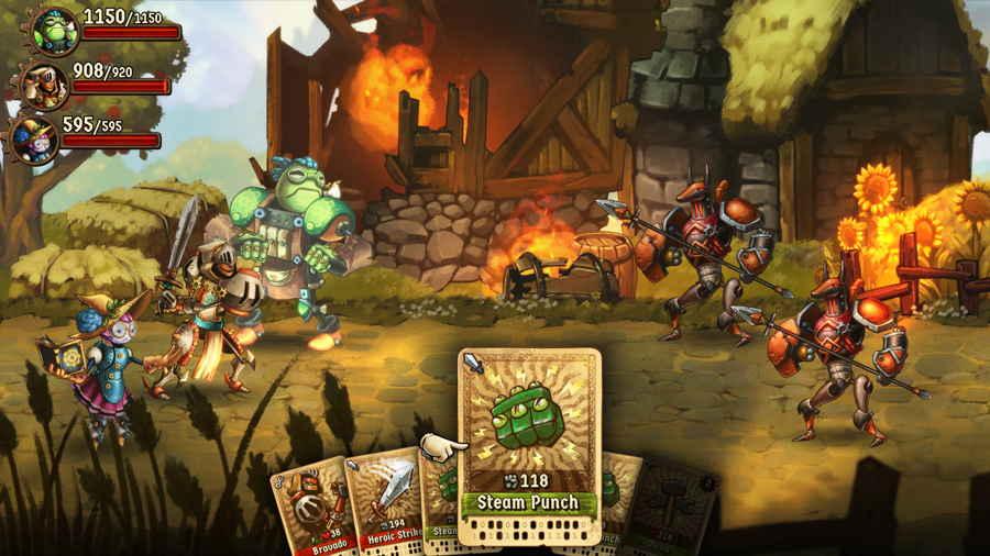 Steamworld Quest Honest Game Review