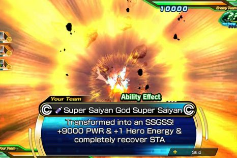 Super Dragon Ball Heroes World Mission Card Action Abilities