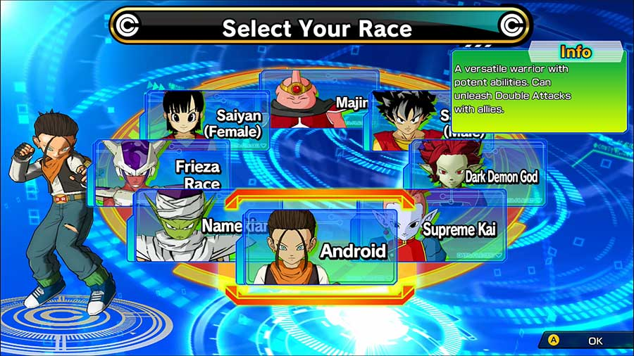 Super Dragon Ball Heroes World Mission Race Guide