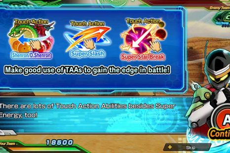 Super Dragon Ball Heroes World Mission Touch Action Abilities Guide