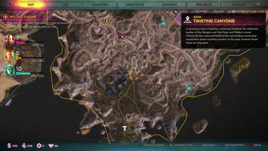 BFG Location Rage 2
