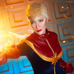 Cosplay Wednesday – Captain Marvel's Carol Danvers