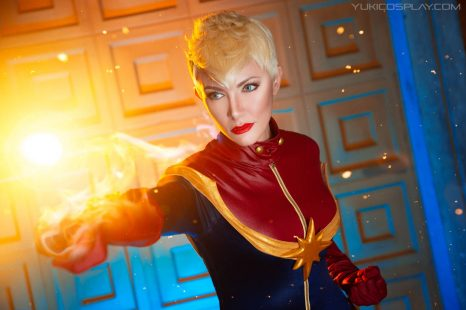 Cosplay Wednesday – Captain Marvel's Carol Danvers