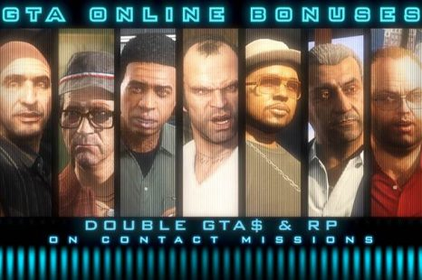 Double Rewards on All Contact Missions in GTA Online This Week