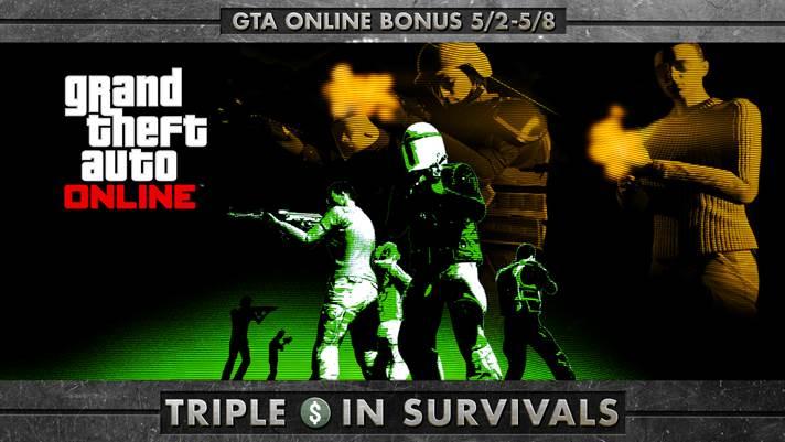 GTA Online Triple - Gamers Heroes