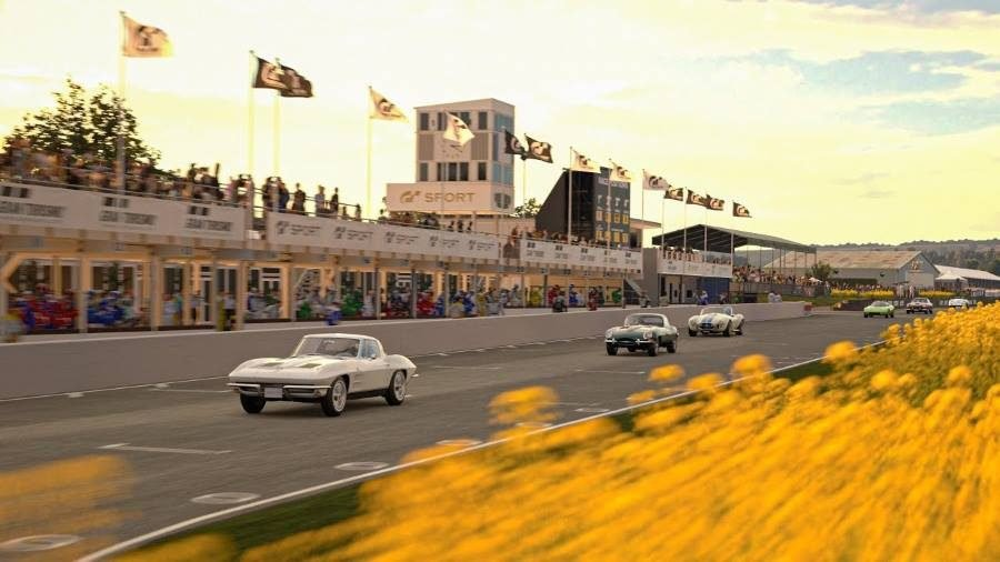 goodwood motor circuit coming to gran turismo sport. Black Bedroom Furniture Sets. Home Design Ideas