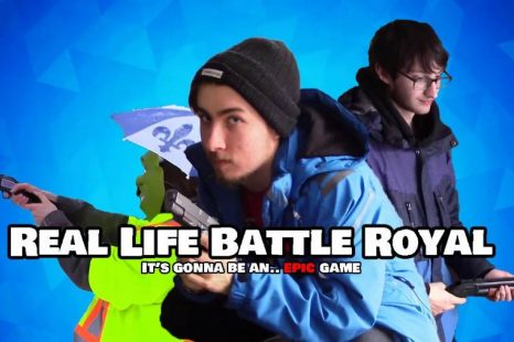 Real Life Battle Royal: It's gonna be an… EPIC game Review