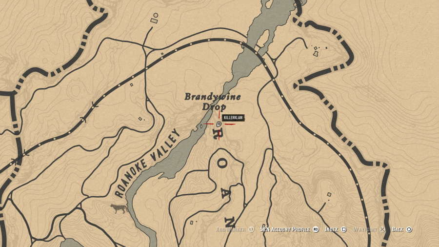 Red Dead Online Brandywine Treasure Map Guide 2
