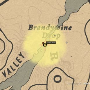Red Dead Online Brandywine Drop Treasure Map Guide