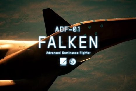 Ace Combat 7 DLC Aircraft ADF-01 Falken Now Available