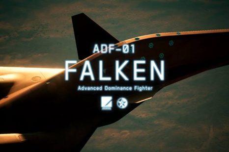 Ace Combat 7 DLC Aircraft ADF-01 Falken Now Available