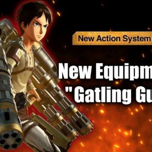 Attack On Titan 2: Final Battle Weaponry Detailed