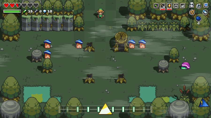 Cadence Of Hyrule Tingle Puzzle
