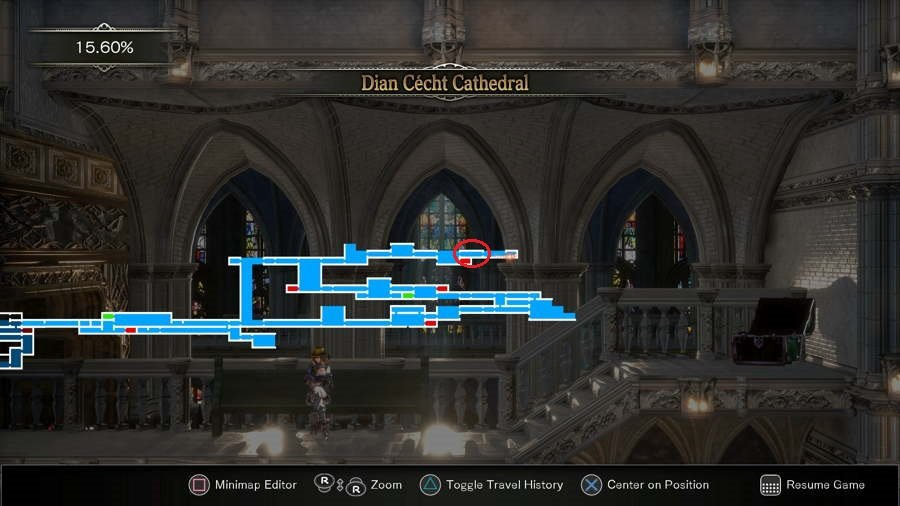 Craftwork Location Bloodstained
