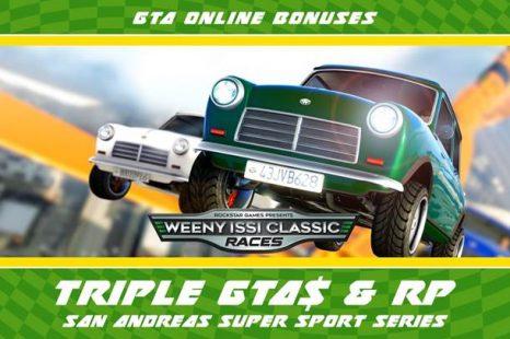 Triple GTA$ & RP Bonuses Available in GTA Online This Week