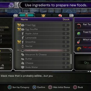 How To Craft Dark Matter In Bloodstained