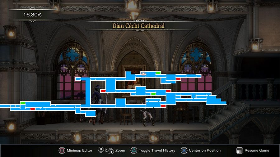 How To Customize Appearance In Bloodstained Location