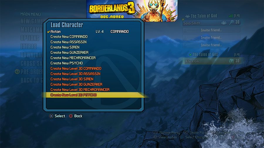 How To Get Level 30 Character For Borderlands 2 Sanctuary DLC