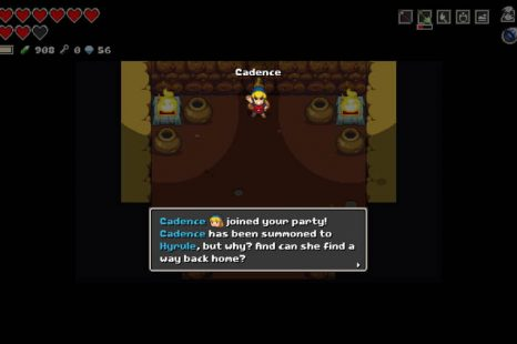 How To Unlock Cadence In Cadence Of Hyrule