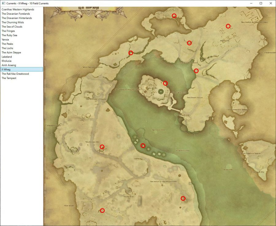 Il Mheg Aether Currents Locations