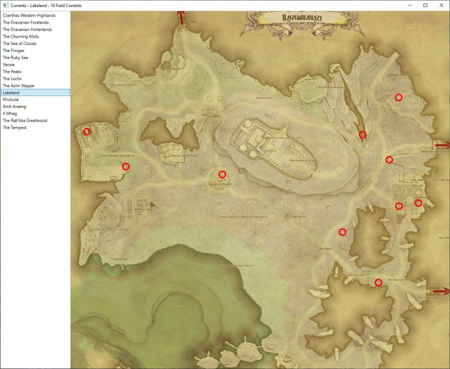Lakeland Aether Currents Locations