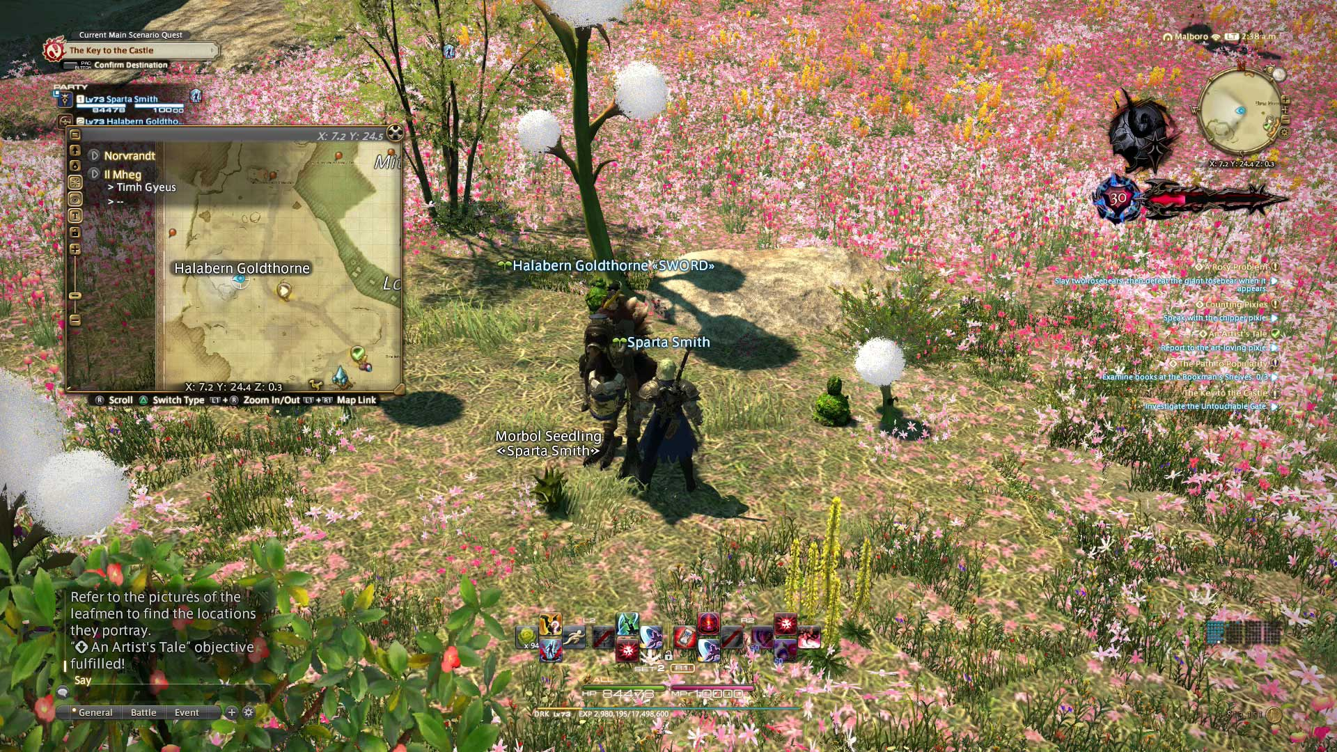 Final Fantasy XIV An Artists Tale Quest Guide – Terry Paton