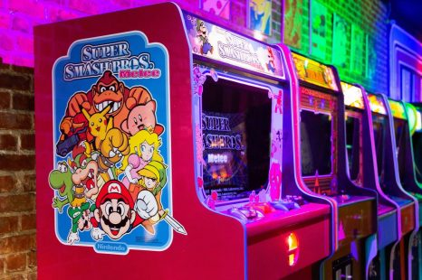 Super Smash Bros. Melee Custom Cabinets Created for High Scores Arcade