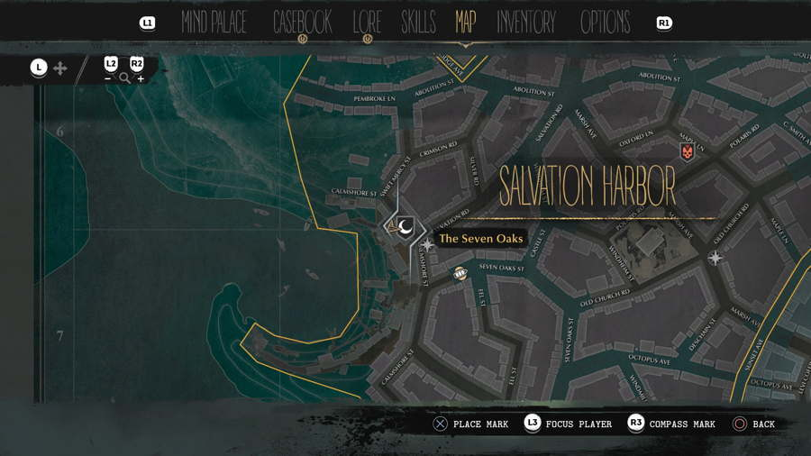 The SInking City Extra Hours Location