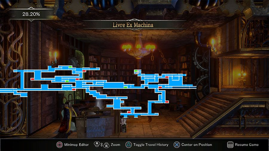 How To Open Machine Lock & Ride Train In Bloodstained