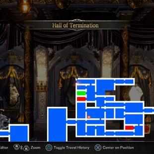 Where To Find 8-Bit Area In Bloodstained