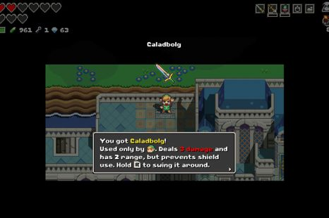 Where To Find Caladbolg – Best Sword In Cadence Of Hyrule