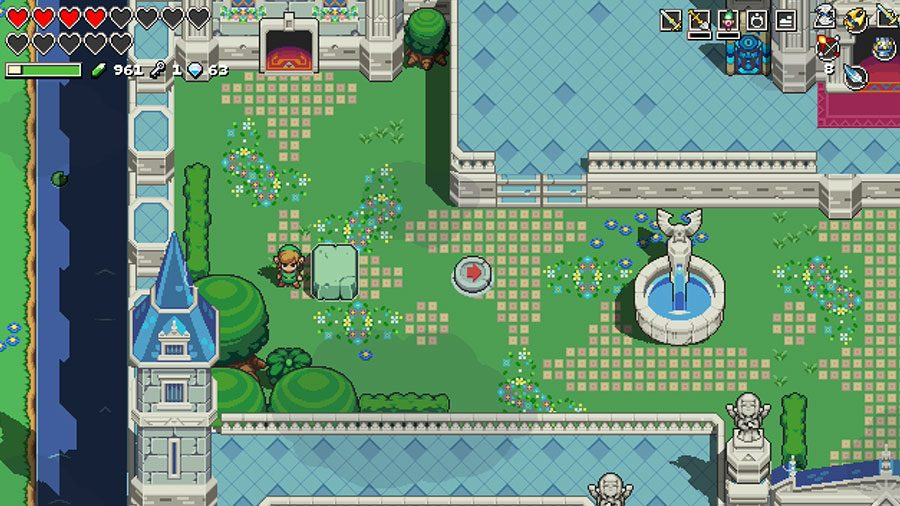 Cadence Of Hyrule How To Solve Future Hyrule Pig Statue Puzzle