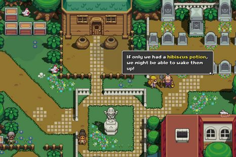 Where To Find Hibiscus Potion In Cadence Of Hyrule