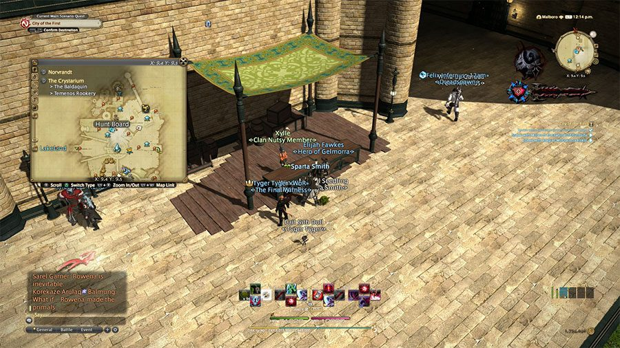 Where To Hand In Sacks of Nuts In Final Fantasy XIV