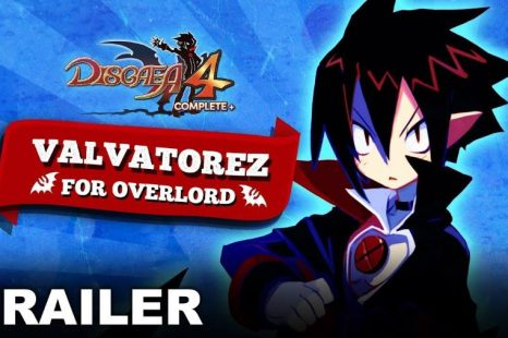 New Disgaea 4 Complete+ Trailer Makes a Case for Valvatorez For Overlord