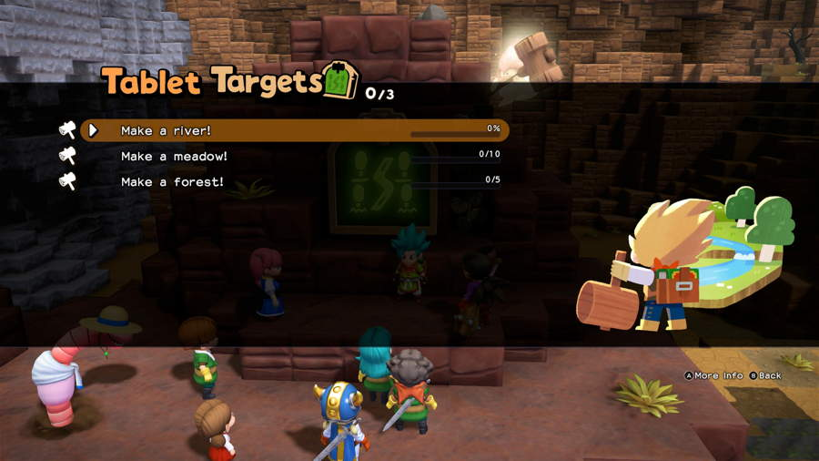 Dragon Quest Builders 2 Tablet Targets Guide