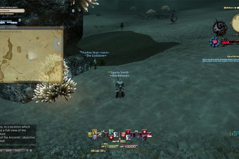 Final Fantasy XIV City Of The Ancients Survey Point Guide