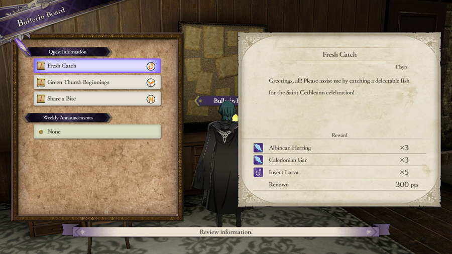 Fire Emblem Three Houses Side Quest Guide
